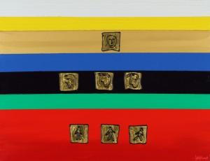 Холст, масло, сусальное золото. 70х90. Цена по запросу.