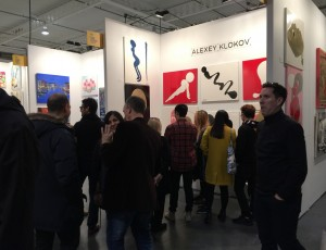 Alexey Klokov at Contemporary Art Fair in Toronto