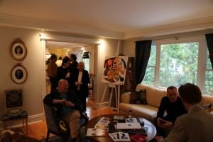 VIP арт превью в особняке а-ля прованс