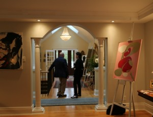VIP art-preview in Ottawa mansion